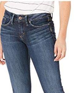 Silver Jeans Co - Elyse Mid Skinny : Size 34W/31L